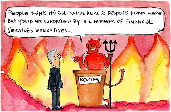 JFinancial executives cartoon